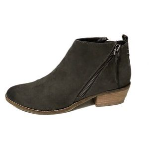 DV8 by Dolce Vita | Gray Chyro Double Zip Booties